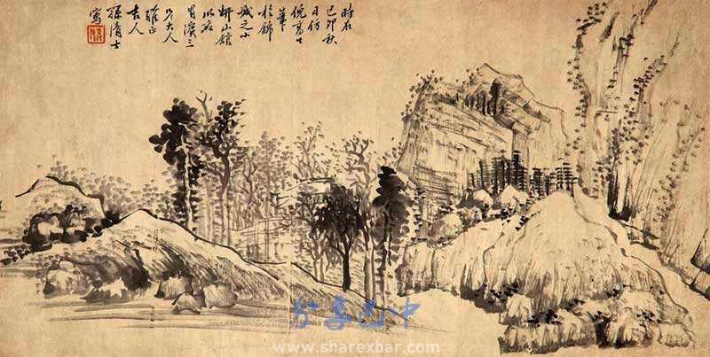 孙清士的山水图