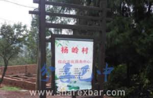朱公乡杨岭山村