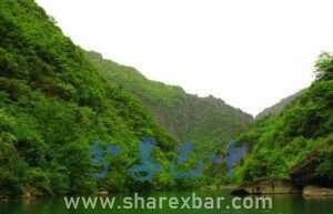 南江县大河镇小巫峡