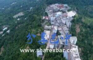 南江县仁和乡航拍图
