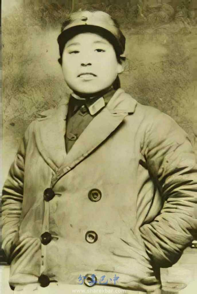 老红军李玉南年轻的时候的照片