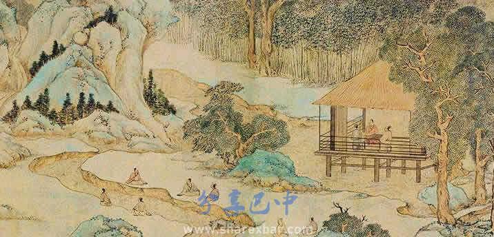 知县游山图