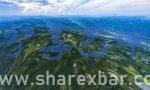 巴州区界牌村全景