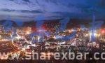 通江县夜景图