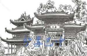 南江文庙想象图