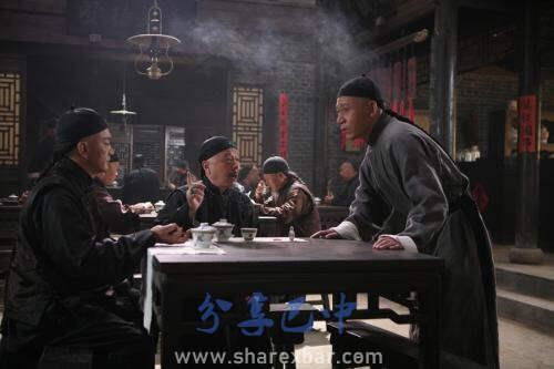 恩阳古镇的茶馆