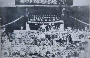 川北民军迎接红军