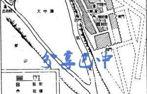 唐贞观十八年符阳县遗址分布图